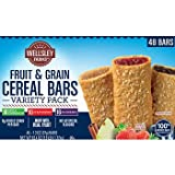 Wellsley Farms Fruit & Grain Cereal Bars Variety Pack, 48 ct. AS