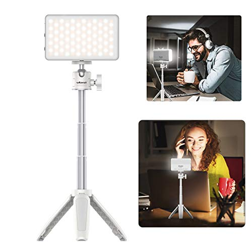 VIJIM VL120 LED Camera Light, Portable Video Light with Tripod Stand,...