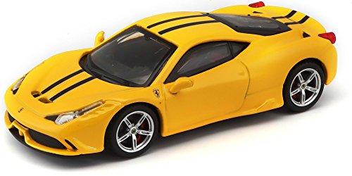 Bburago Maisto France- Ferrari 458 Speciale Jaune Signature Séries 1/43 Bburago, 36901Y