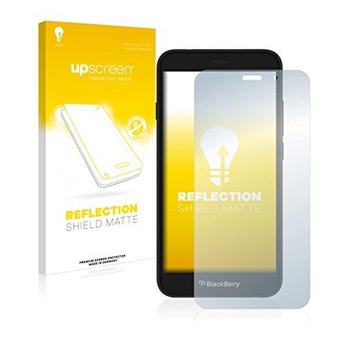 upscreen Entspiegelungs-Schutzfolie kompatibel mit BlackBerry Aurora – Anti-Reflex Bildschirmschutz-Folie Matt