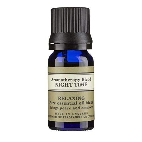 Neal's Yard Remedies' Aromatherapie Blend Night Time etherische olie 10ml, ontspannend, rustgevend en troostend