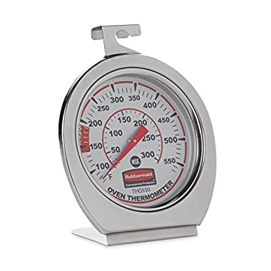 Rubbermaid Commercial Stainless Steel Oven Monitoring Thermometer, FGTHO550