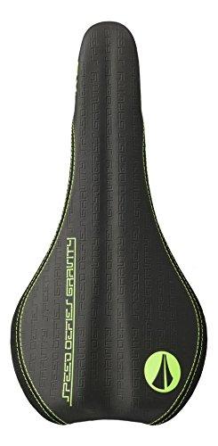 SDG ti-Fly sillín Negro/Verde flúor