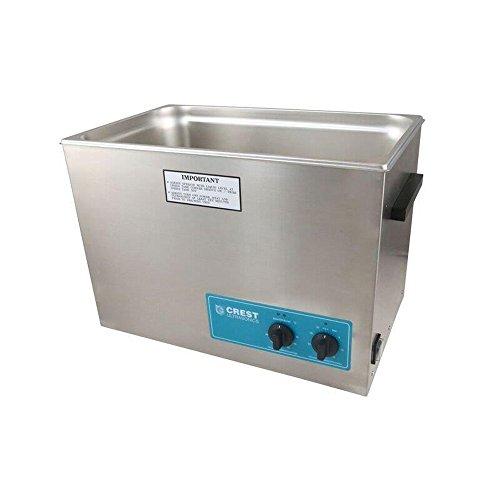 Crest Ultrasonics 1800PH045-1 Model P1800 Table Top Cleaner, Digital Timer/Heat, 5.25 gal Volume, 45 Khz/115V, 5.25Gallons, Degree C