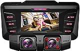 Dvuboo Dash CAM,4K UHD WiFi Cámara Coche Grabadora con Infrarrojo Vision Nocturna,G-Sensor,Loop de Grabación y Detección de Movimiento para Coches Grabación de Aparcamiento,Nosdcard