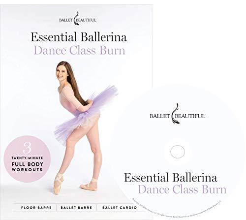 Ballet Beautiful Ballet Workout DVD - Essential Ballerina: Dance Class Burn. Mary Helen Bowers Barre Dance Inspired Fitness DVD