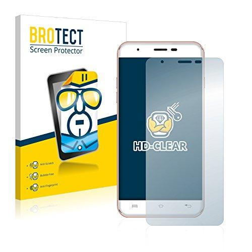 BROTECT Schutzfolie kompatibel mit Oukitel U7 Plus (2 Stück) klare Bildschirmschutz-Folie
