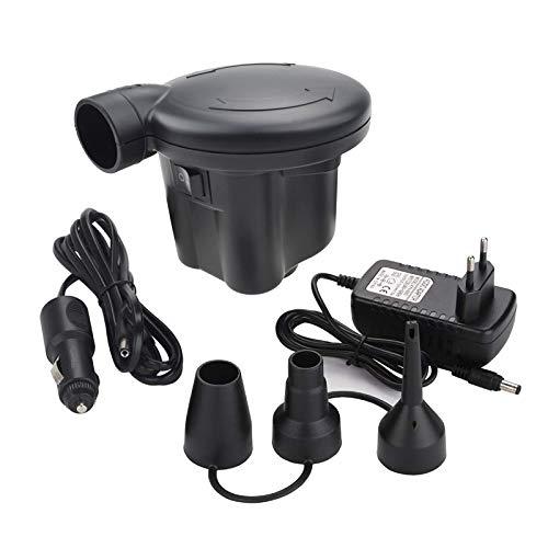 Voniry - Pompa ad aria elettrica AC 230 ~ 240 V/DC 12 V, gonfiaggio rapido, gonfiabile, gonfiabile, gonfiabile, gonfiabile, gonfiabile, per materasso ad aria gonfiabile, giocattoli per piscina