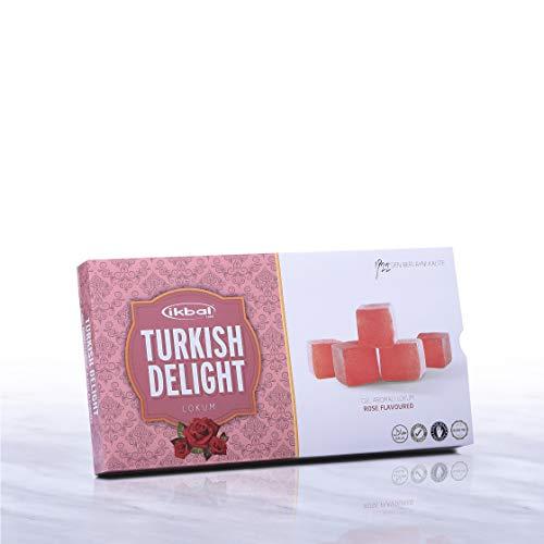 AFYON IKBAL - Turkish Delight mit rosa Aroma - Güllü Lokum (3)