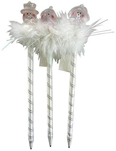 Toyland Le Bonhomme de Neige de Nouveauté de 22 centimètres Pen avec Le Pelage pour Votre Fête Congelée (PM220)