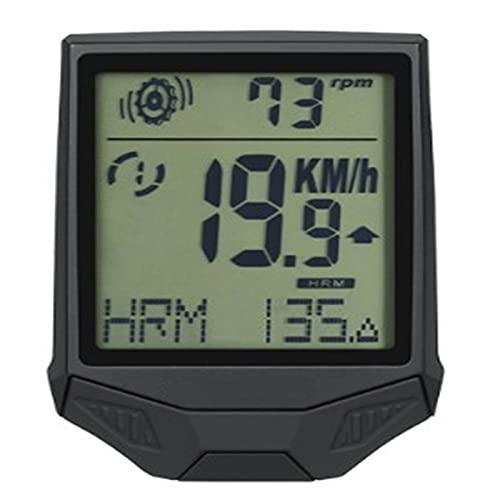Ordenador De Ciclismo Con GPS Computadora De Bicicletas Ciclismo Computadoras Bicicleta Velocímetro Inalámbrico Impermeable Empoteas De Cronómetro Odómetro LCD RetroiluminaciónPortátil Para Escalada