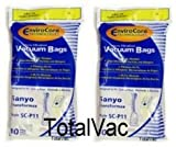 Sanyo SC-P11 Transformax Vacuum Bags - 20 Bags