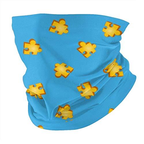 Banjo Kazooie Jiggy Puzzle Pieza Patrón Camisa Variedad Bufanda Mascarilla Calentador de cuello Pañuelo para la cabeza al aire libre Bufanda Polaina para el cuello Bandanas para hombres y mujeres