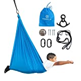 Harkla Indoor Swing for Kids - Indoor Sensory Swing Great for Autism, ADHD, and Sensory Processing Disorder - Therapy Swing has a Calming Effect on Children with Sensory Needs