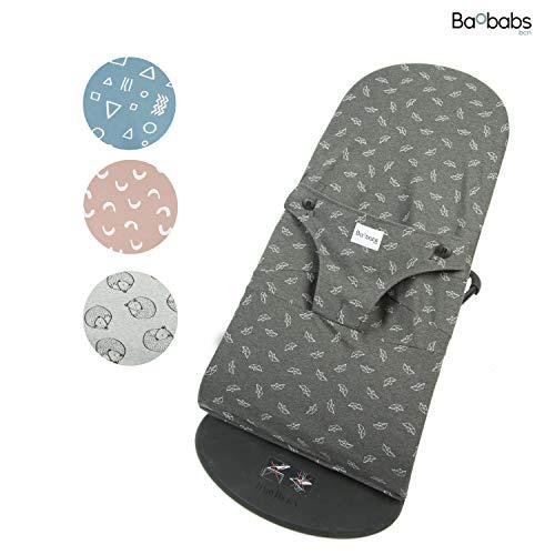 BAOBABS BCN Fundas para Hamaca Babybjörn - Transpirable e Impermeable |Funda de Tela para Babybjorn Bliss Segura | Facil Lavado - Máxima Calidad | Hecha en España