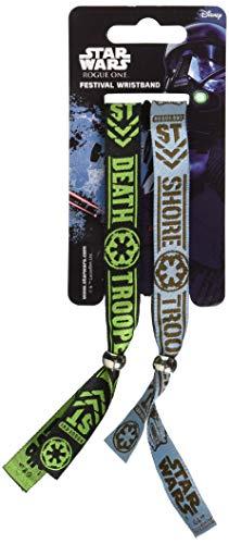 Star Wars FWR68079 Armband, Mehrfarbig, 10mm breit