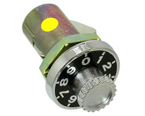 ミニダイヤル錠 型横向 (KR-82)