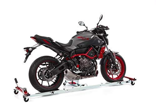 Ace Bikes AceBikes MotorMover Motorrad Rangierhilfe für Seitenständer Silber/Rot