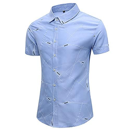 Camisas de manga corta Ropa de hombre Streetwear impreso