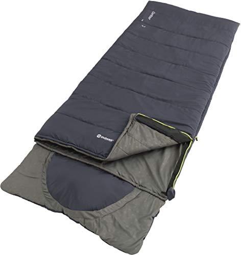 Outwell Contour Lux Schlafsack deep Blue Ausführung Left Zipper 2020 Quechua Schlafsack
