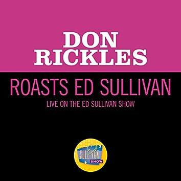 Don Rickles Roasts Ed Sullivan (Live On The Ed Sullivan Show, June 29, 1969)