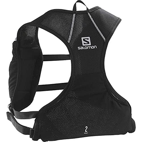 Salomon Agile 2 Set Chaleco 2L Unisexo 2x Soft Flasks Incluidas Trail Running Senderismo