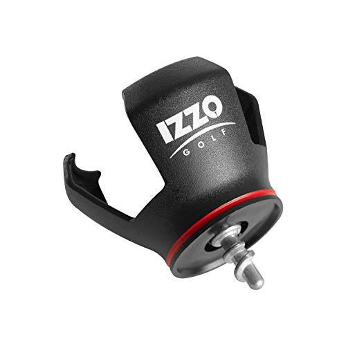 Izzo Golf Ball Grabber - Putter Grabber 3 Piece Prong Golf Ball Retriever Grabber with Screw in Design for Your Putter, Black