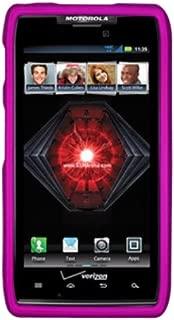 Decoro CRMOTDRMHP Premium Protector Case for Motorola Droid Razr Maxx - 1 Pack - Retail Packaging - Rubber Hot Pink