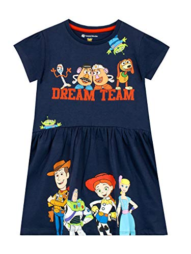 Disney Girls Toy Story Dress Blue Age 3 to 4 Years