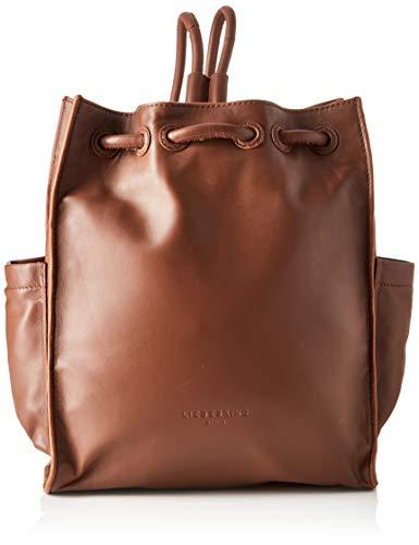 Liebeskind Berlin Drawstring Backpack Medium, Women's Handbag, Brown (Toffee), 11x33x27 cm (W x H L)