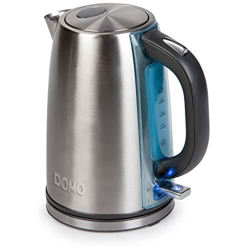 Domo DO448WK Wasserkocher Edelstahl 1,7 L, silber