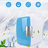 Mini Kühlschrank 2 in 1 Kühlbox Liter Tragbare Kühlschränke mit Kühl, 220V/12V...