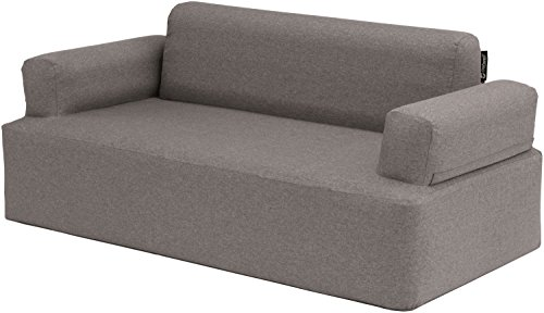 Outwell Lake Superior Sofá de Camping Hinchable, Gris, 170 x 83 x 74 cm
