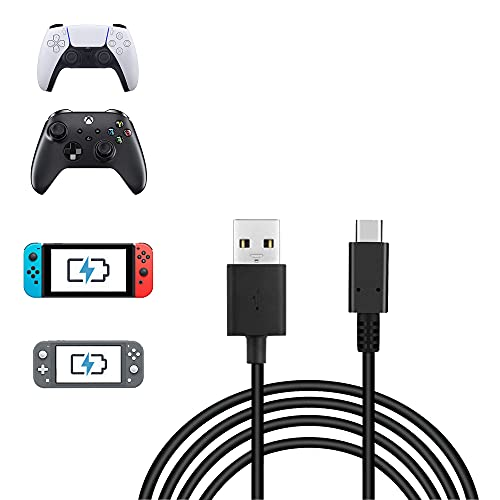 6.6FT USB Type C Charging Cable for Nintendo Switch & OLED Model, Fast Charging USB Type A to USB C Cable by RHPTALL Compatible with Samsung Galaxy S21 S21, Google Pixel 5 and Other USB C Charger
