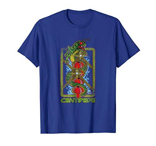 Official Atari Centipede Vertical Art T-shirt for Men, Women, 5 Colors, S to 3XL