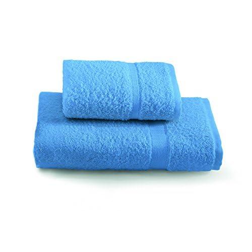 Gabel Tintunita & Co Set Asciugamani, 100% Cotone, Bluette, 100 x 60 cm