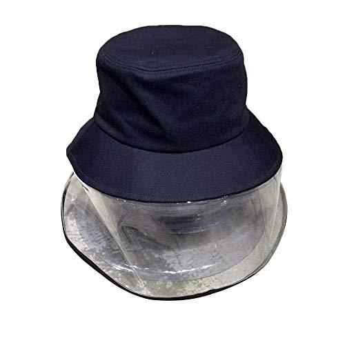 AOXQ Sombrero De Cubo Casco Neutral Anti-Saliva Ajustable por Pulverización, Cubo Protector, Gorro, Gorra, A Prueba De Polvo