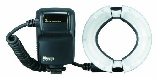 Nissin Digital MF18 - Flash para Nikon i-TTL (con Adaptador), Negro