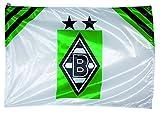 VFL Borussia Mönchengladbach 19686 Borussia Mönchengladbach-Fohlenelf-Artikel-Hissfahne Home-Saison 2021/2022-150 x 100 cm, Polyester