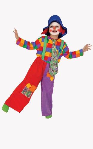 Dress Up America Costume de pitre de garçon coloré