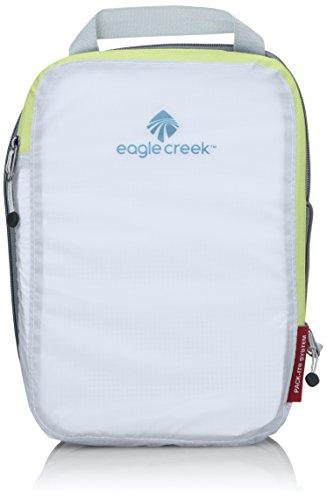Eagle Creek Pack-it Specter Compression Cube Small Organizador para Maletas, 26 cm, 3 litros, White/Strobe
