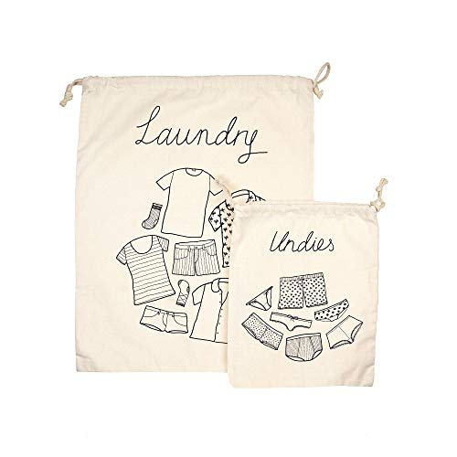 Sass & Belle Travel Laundry (Set of 2) Bags