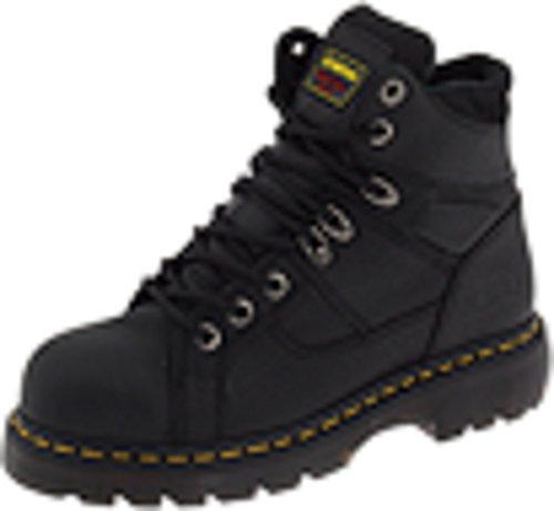 Dr. Martens, Men's Ironbridge Steel Toe Heavy Industry Boots, Black, 10 M US
