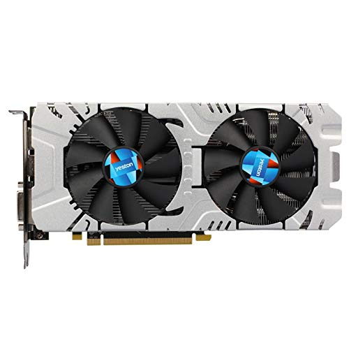 OverTop Yeston RX580 8G D5 GDDR5 256Bit 1257MHz 7000MHz Gaming Video Graphics Card