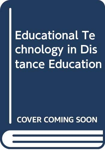 Educational Technology In Distance Education