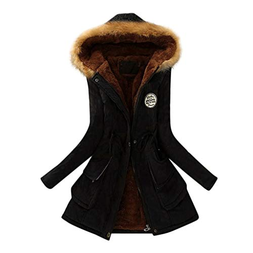 ReooLy wollmantel schwarz Longjacke wintermantel Blaue Jacke Langer Mantel daunenmantel Damen schwarz männer Winterjacke schwangeren Kleider Lange Weste ohne ärmel ärmellose Jacket Herren
