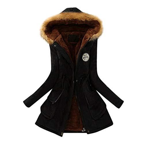 Winter Jacket for Women Warm Parka Coat Faux Fur Lined Hood Long Jackets Girls Coats Windbreaker Outwear
