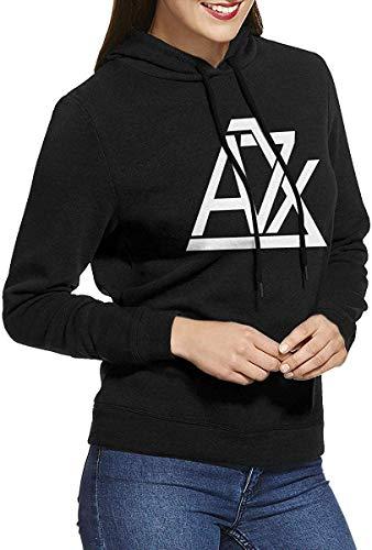 Avenged Sevenfold Womens Long-Sleeve Lightweight Hoodie Shirt Sweatshirt Rundhalsausschnitt