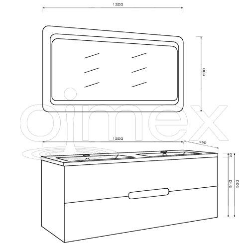 oimexgmbh Design Badmöbel Set Bild 3*