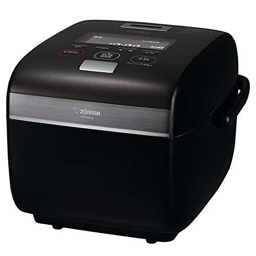 象印 炊飯器 1升 (10合) 圧力IH式 炎舞炊き 黒漆 NW-KB18-BZ